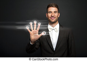 businessman hand