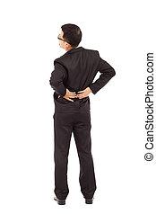 businessman have back  pain