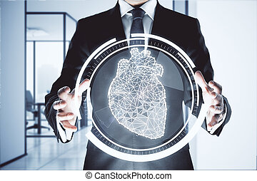 Cardiology concept
