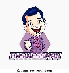 businessman illustration design