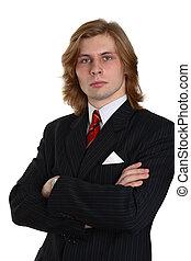 businessman in a suit 2