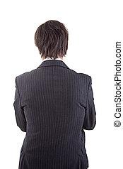 businessman  in back
