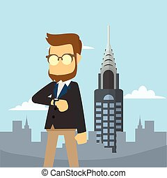 businessman in newyork