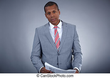 Businessman in suit - Portrait of successful professional in...