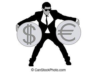 Businessman in suit three