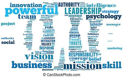 Businessman info-text graphic