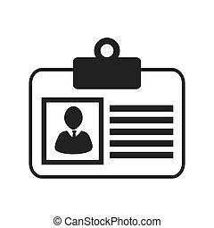 Businessman isolated flat icon, vector illustration.