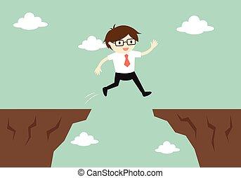 jump through the gap