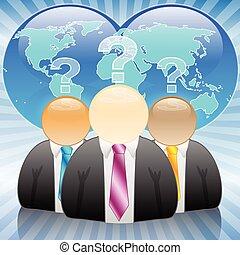 businessman-kings, la terre