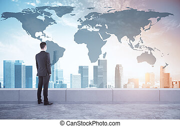 International business and research concept