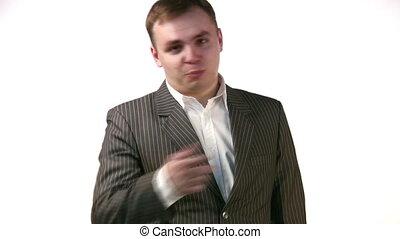 businessman offer - Offer of businessman.