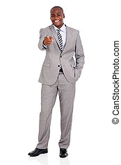 businessman pointing at you