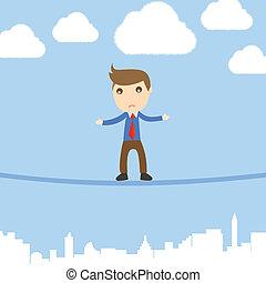 Businessman Risk