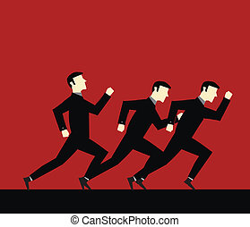 Businessman Run