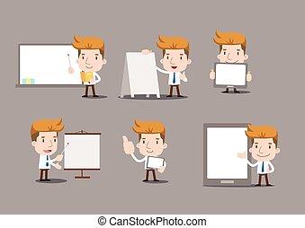 Businessman series - blank object