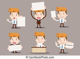 Businessman series - blank set