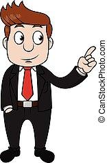 Businessman show