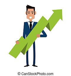 Businessman successful entrepreneur