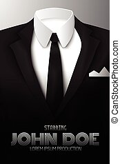 Businessman Suit Promotional Poster