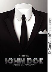 Businessman Suit Promotional Poster