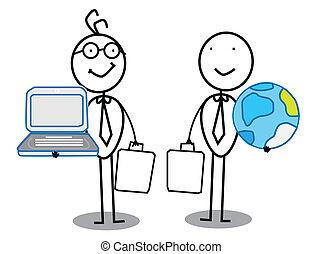 Businessman Team work