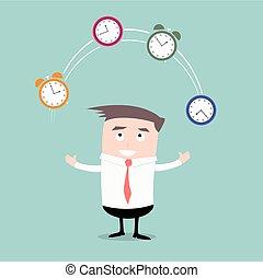 Businessman Time Management