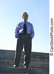 businessman - top manager