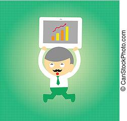 businessman vector cartoon