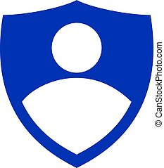 Businessman vector logo design.