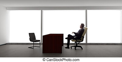 Businessman Waiting for Appointment