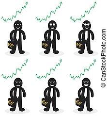 businessman who win money