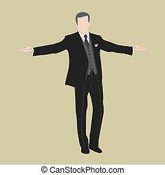 businessman win