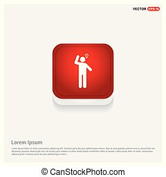 Businessman with idea Icon