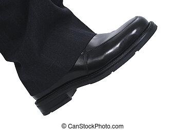 Businessman's Foot