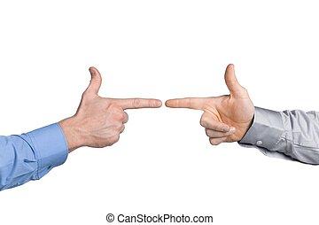 businessman\\\'s hands