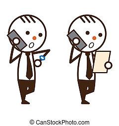 businessman%u3000phone