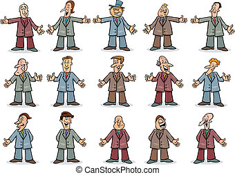 businessmen , συλλογή , ευτυχισμένος