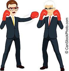 Businessmen Competition Concept
