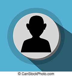 Businessmen profile icon
