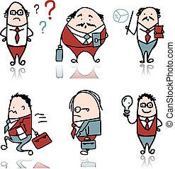 Businessmen, sketch for your design