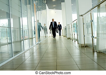 businesspeople, bewegung