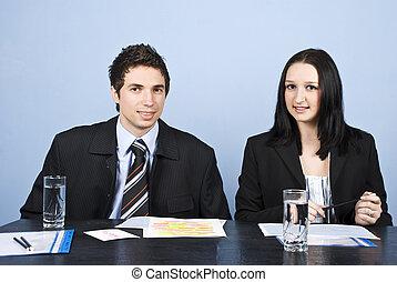 businesspeople, escritório