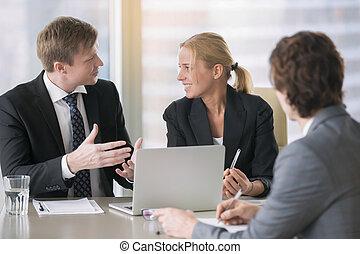businesspeople, planowanie, praca