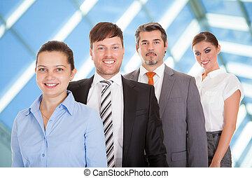 businesspeople, posición, consecutivo