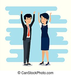 businesspeople teamwork strategy plan cooperation