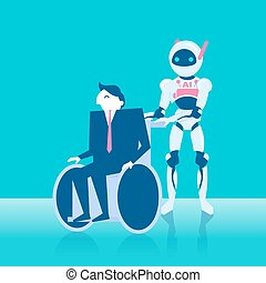 people with artificial intelligence