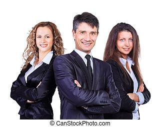 businessteam, lider