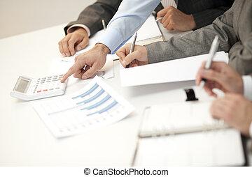 Businessteam meeting