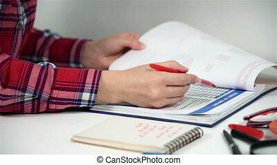 Businesswoman Audited Start Up Report