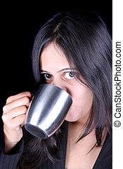 Businesswoman Coffee